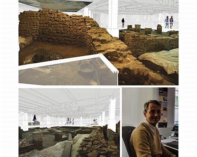El Museo Carmen Thyssen de Málaga ultima su viaje a la época romana.