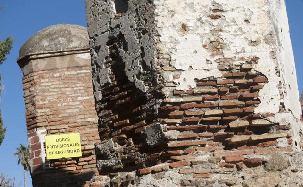 El Ayuntamiento de Málaga contrata a un arquitecto para hacer el seguimiento del deterioro de la Alcazaba y Gibralfaro